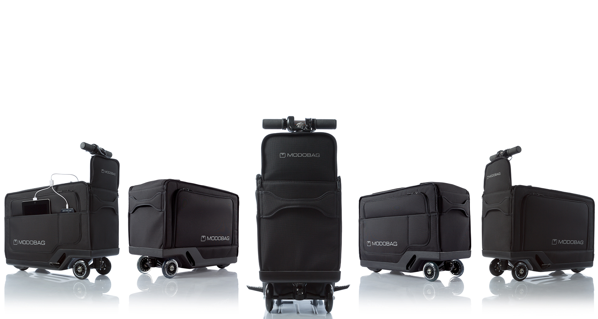 Modobag World s First Motorized Rideable Luggage